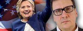 Problemen börjar när Hillary Clinton vinner title=