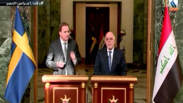 Statsministern på besök i Bagdad