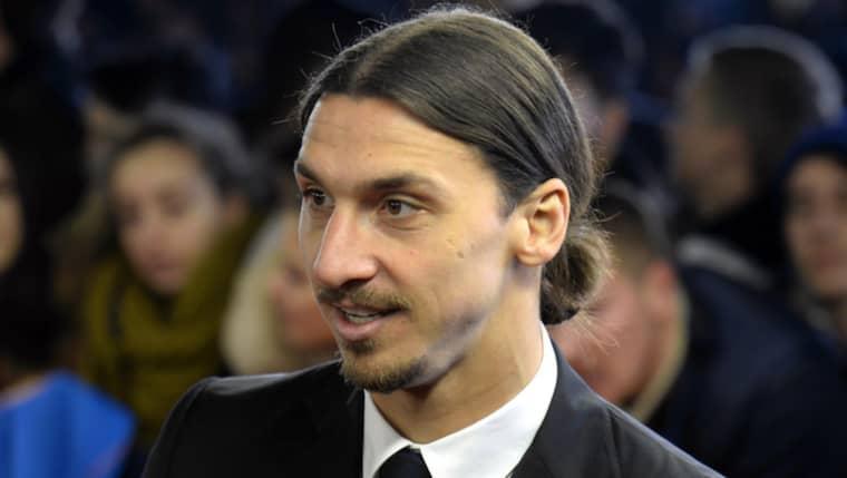 Zlatan Ibrahimovic väljer fransk gala före Idrottsgalan Foto: Walter Bieri