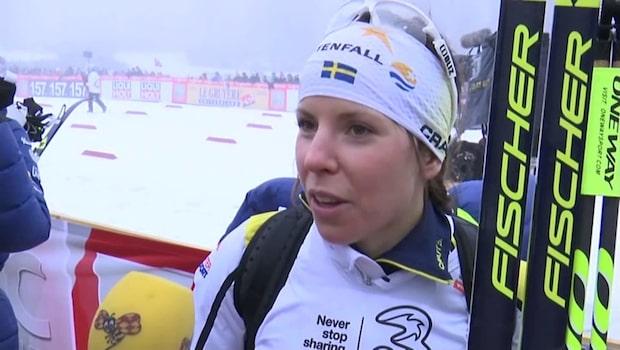 Charlotte Kalla tar ut stafettlaget inför VM - petar Hanna Falk
