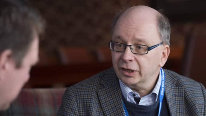 Dag Hartelius intervjuades under Folk och Försvar förra året. Foto: Sven Lindwall