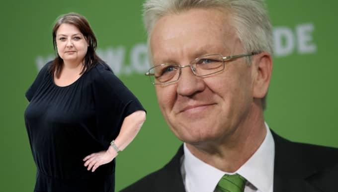 Kretschmann är miljöpartist och leder den rödgröna koalitionen i Stuttgart - hemstaden för Mercedes och Porsche. Han la fram sina förslag utan minsta darr på stämbanden, skriver Malin Siwe.