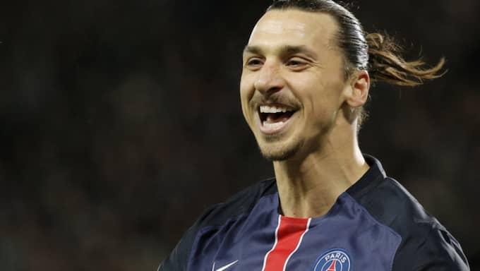 Zlatan Ibrahimovic slog till med ny målsuccé för PSG. Foto: Laurent Cipriani