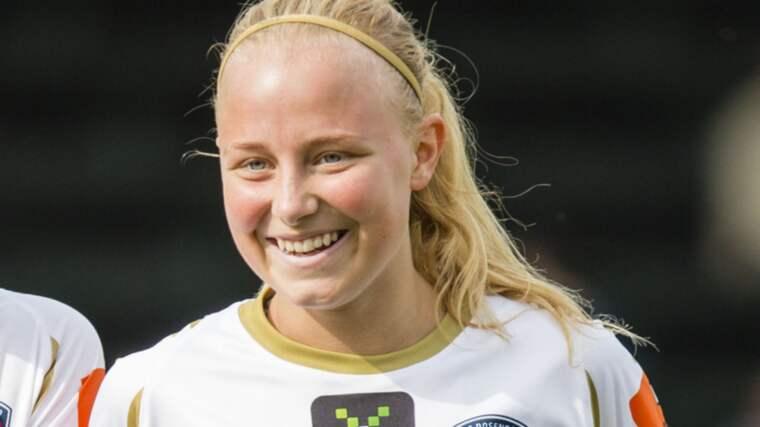 Ebba Wieder missar supercup-mötet Foto: Mathilda Ahlberg
