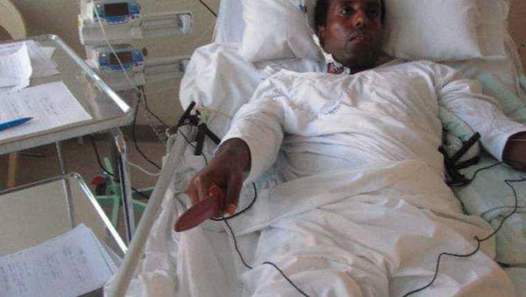 Abraham Ukbagabir dömdes i oktober till livstids fängelse för dubbelmordet på Ikea i somras. Foto: Polisen
