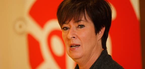 Mona Sahlin har meddelat sin avgång som partiledare för Socialdemokraterna. Foto: Sven Lindwall