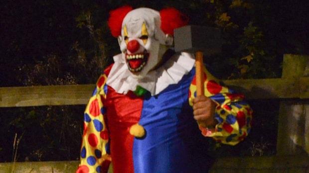 Nya fall av clowner i Sverige
