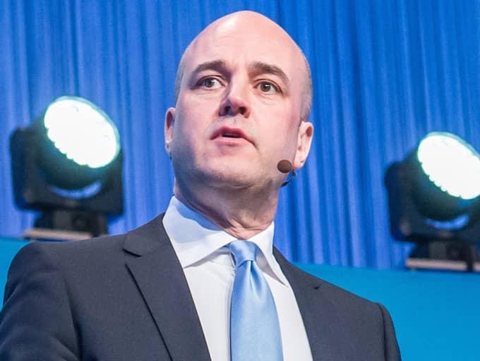 På Postkodlotteriets årliga tillställning för förmånstagare höll Reinfeldt ännu ett brandtal om att välkomna flyktingar till Sverige. Foto: Pelle T Nilsson / /ALL OVER PRESS