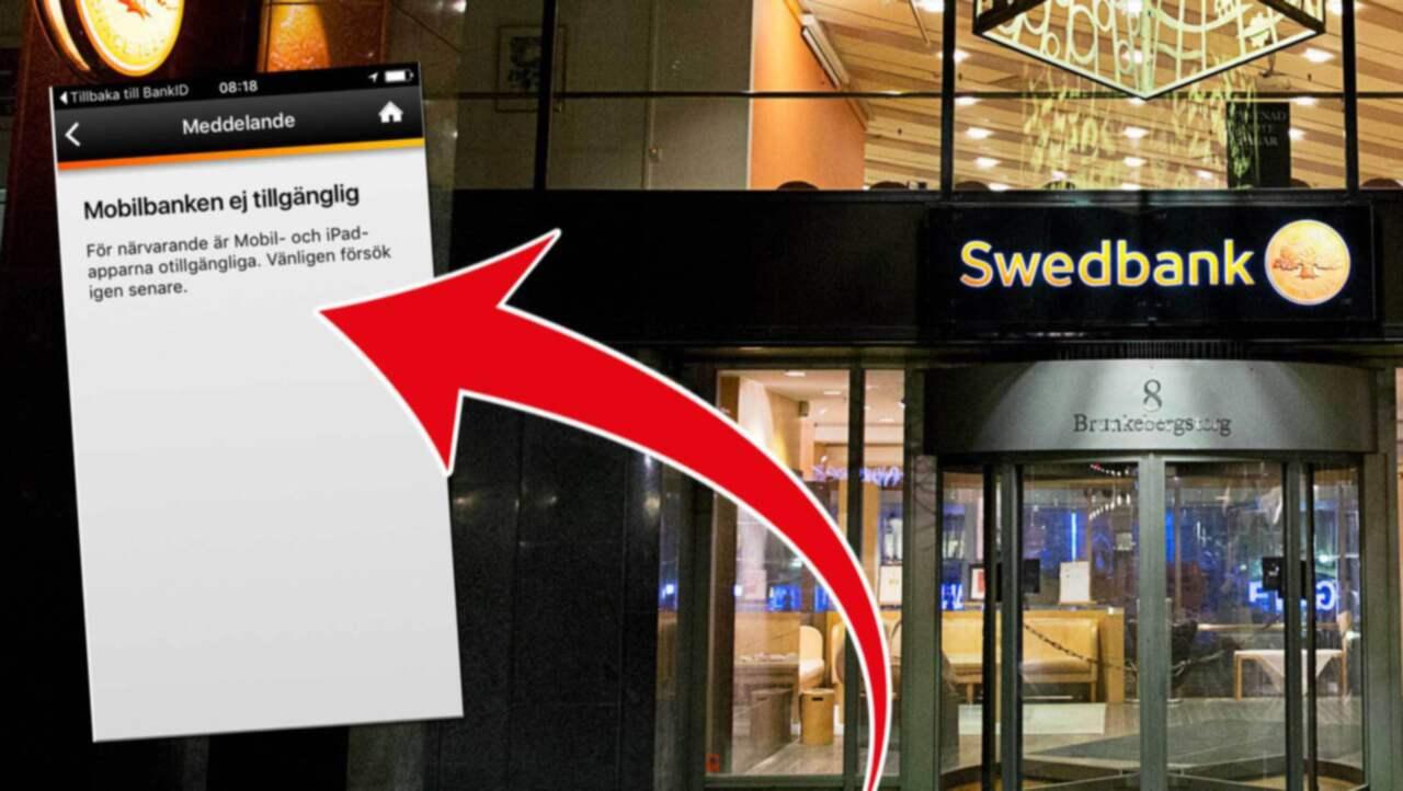 swedbank störningar