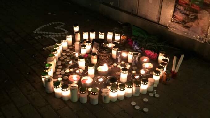 Aiman Qabli höggs till öds med kniv i Alby centrum den 23 december förra året. Foto: Jesper Lindqvist