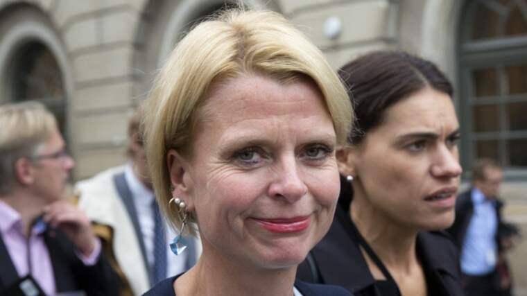 Åsa Regner, S, jämställdhetsminister. Foto: Ylwa Yngvesson