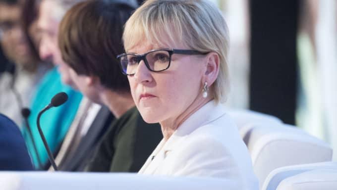 Margot Wallström har stått i fokus den senaste tiden. Foto: Sven Lindwall