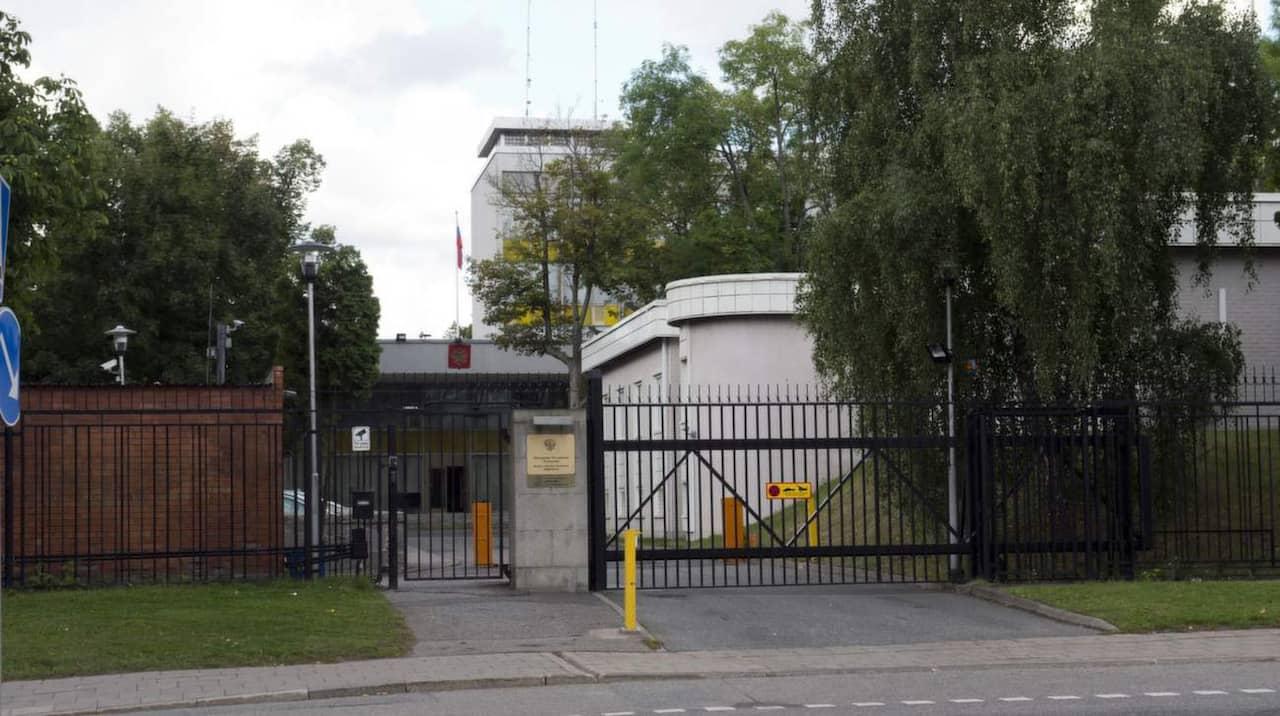 förbjuden ryska stor i Stockholm