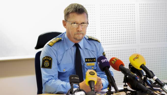 Polisregionchef Klas Friberg i Region Väst har efter en internutredning nu lämnat över materialtet gällande polismannens agerande för prövning hos polisens personalansvarsnämnd. Foto: Henrik Jansson
