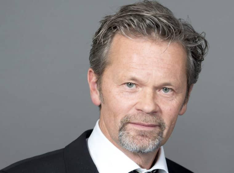 Efter pausen från rampljuset – nu gör Anders Glenmark comeback. Foto: Niklas Larsson / Bildbyrån