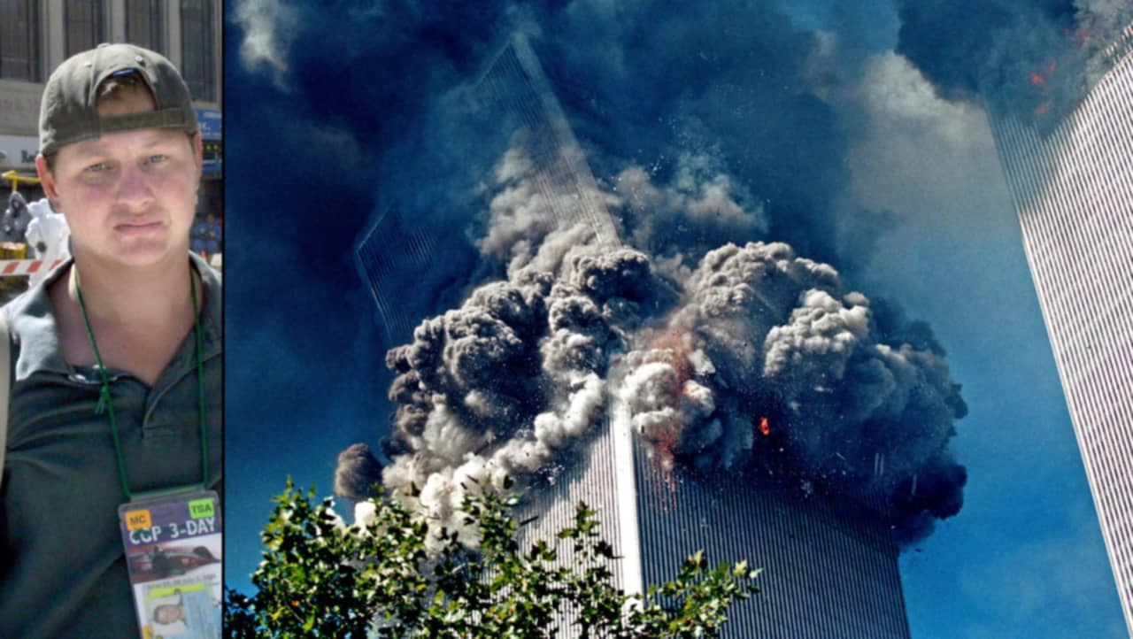The Story Behind the Haunting 9/11 Photo of the Falling Man Pictures of the twin towers collapsing