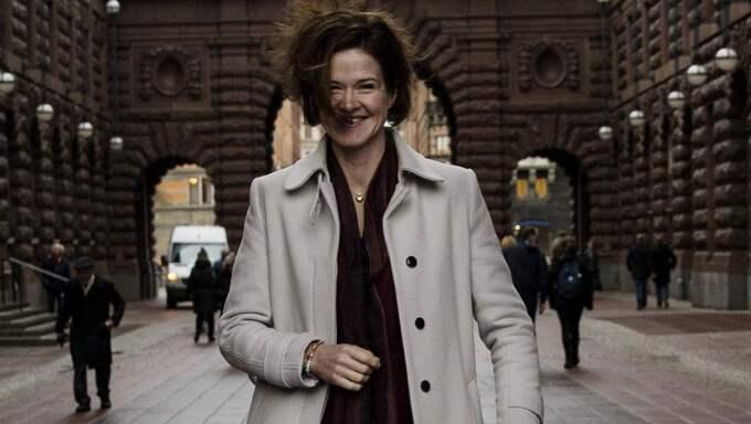 I januari tog Anna Kinberg Batra över som partiledare för Moderaterna. Foto: Lisa Mattisson