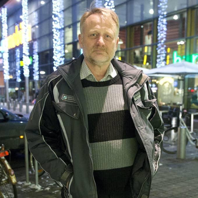 Per Knutsson, 63, pensionär, Malmö: – Margot Wallström är ju också insyltad i detta. Nu skapar hon skandaler inrikes också. Hon borde ha avgått redan innan men nu har hon ännu mer anledning. Foto: Fritz Schibli