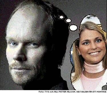 """DRÖMGÄSTEN. Kristian Luuk hoppas på prinsessan Madeleine i den nya tv-showen """"Godnatt, Sverige"""". """"Vi får väl se om jag lyckas"""", säger Luuk."""