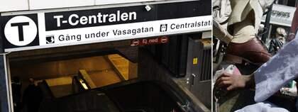 Enligt artikeln på DN Debatt reser stockholmarna i snitt 77 minuter varje dag. Foto: Mattias Forsberg och Joachim Wall