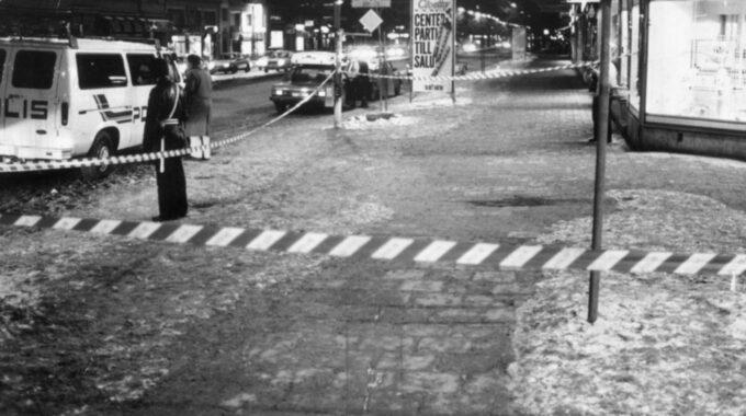 Mannen var 33 år när Palme mördades i Stockholm. Foto: Rolf Söderberg