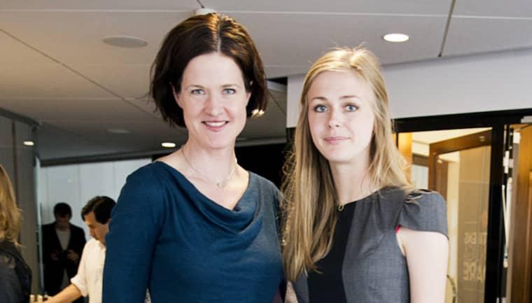 Anna Kinberg Batra och Bodil Sidén. Foto: Lisa Mattisson Exp