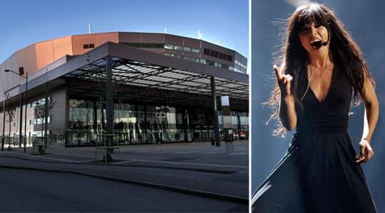 """Malmö Arena vann striden om Eurovision song contest. """"Här kommer vi närmare inpå både publiken och artisterna"""", säger Christer Björkman. Foto: RONNY JOHANNESSON / ROLF KLATT"""