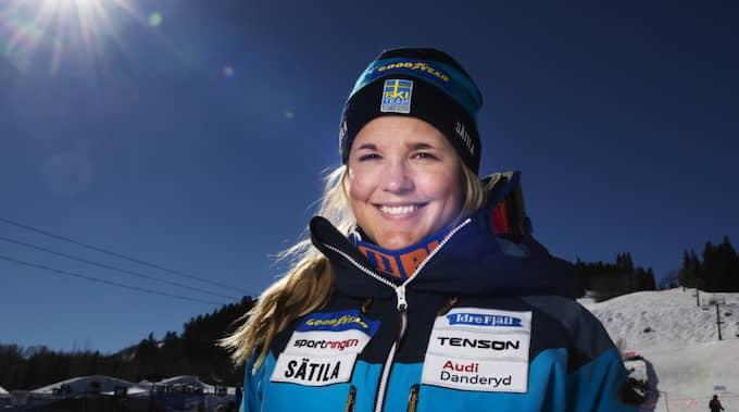 """""""Hon andas nu själv utan hjälp från respirator och all sövande medicinering har tagits bort"""", skriver skidförbundet i ett pressmeddelande. Foto: Joel Marklund / BILDBYRÅN"""