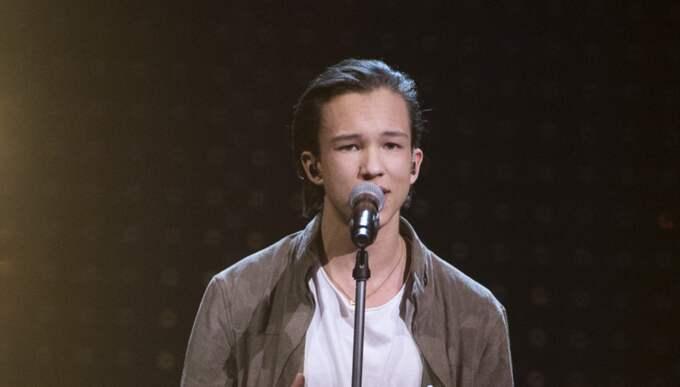 Frans under Melodifestivalen Foto: Sven Lindwall