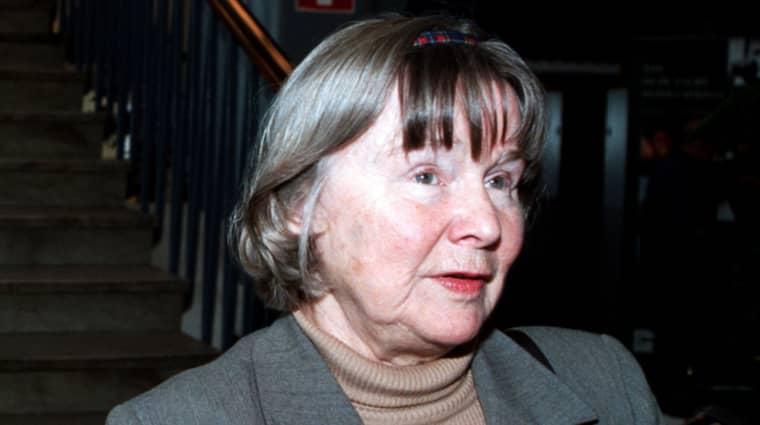Lisbet Palme. Foto: Mårten Svemark