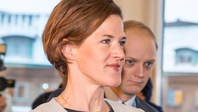 Trycket i Anna Kinberg Batras Moderaterna är stort på att en gemensam alliansbudget ska läggas. Foto: Pelle T Nilsson/IBL