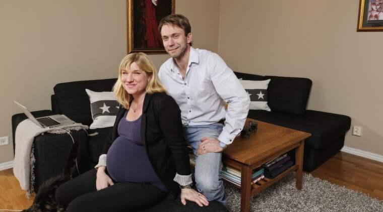 """Anna Sköld och Harald von Koch väntar sitt första barn. """"Det var verkligen mitt livs resa, och förändrade mitt liv på alla plan"""", säger Anna om sin medverkan i """"Mot alla odds"""". Foto: Mikael Sjöberg"""