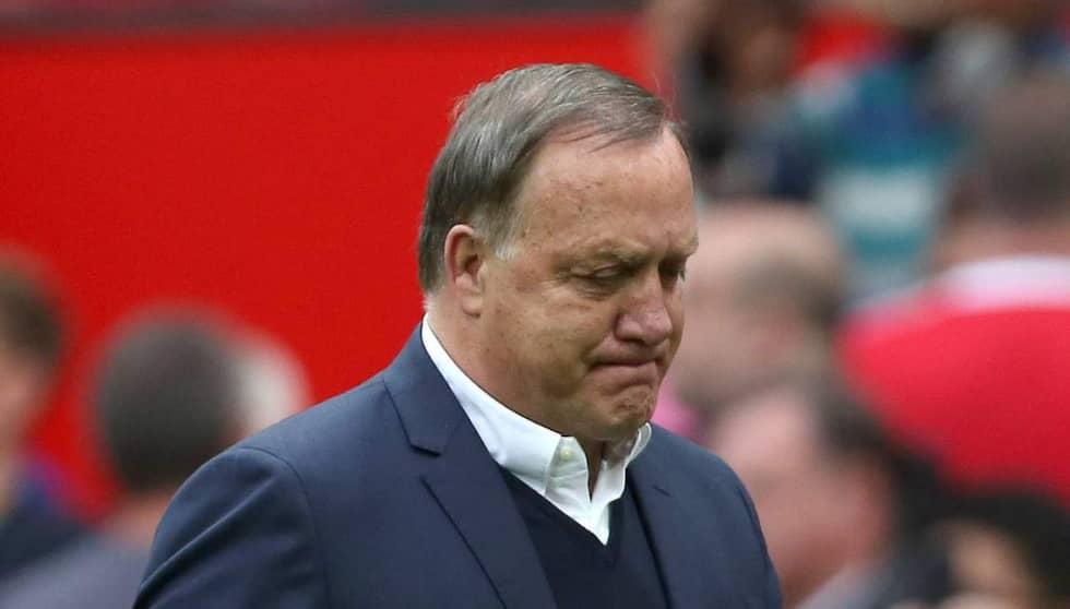 Dick Advocaat fick sparken i höstas. Foto: Imago Sportfotodienst