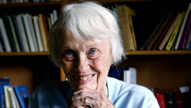 Gunnel Vallquist blev 97 år gammal. Foto: Lars Epstein