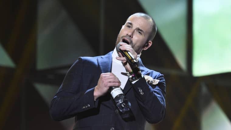 Martin Stenmarck repar inför Melodifestivalen Foto: Sven Lindwall