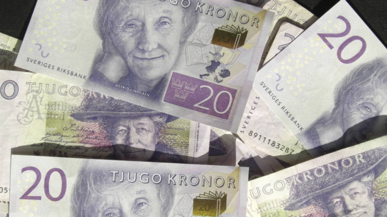 lösa in gamla pengar