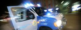Man hoppade ut genom fönstret – jagades av polis