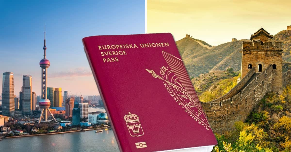 Visum till Kina – ny regel med gamla pass | Allt om Resor
