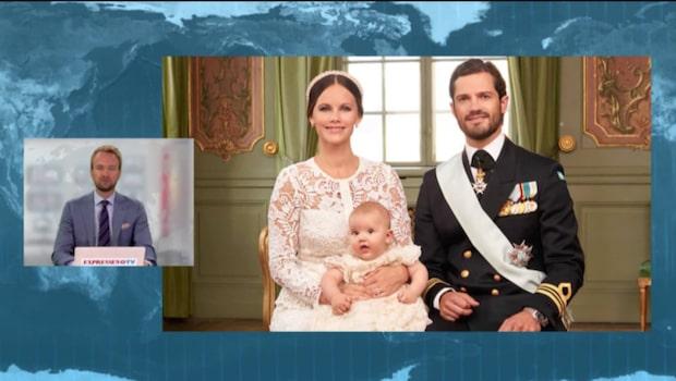 Officiella bilderna från prins Alexanders dop