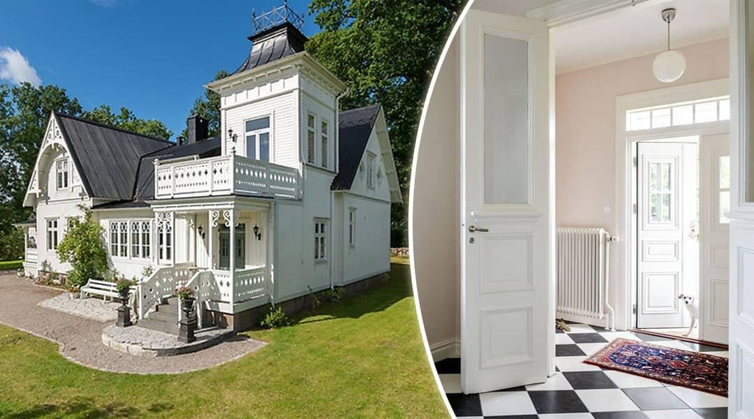 Hemnet Romantiskt 1800 talshus till salu i Växjö Leva& bo