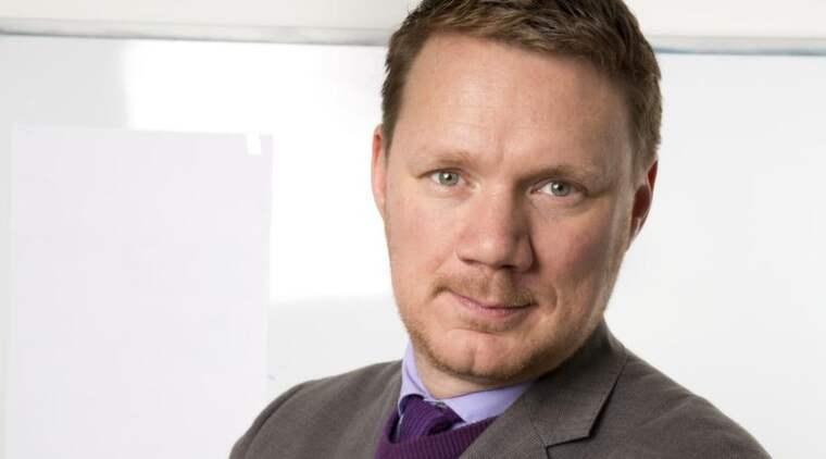 Expressens Niklas Svensson. Foto: Ylwa Yngvesson
