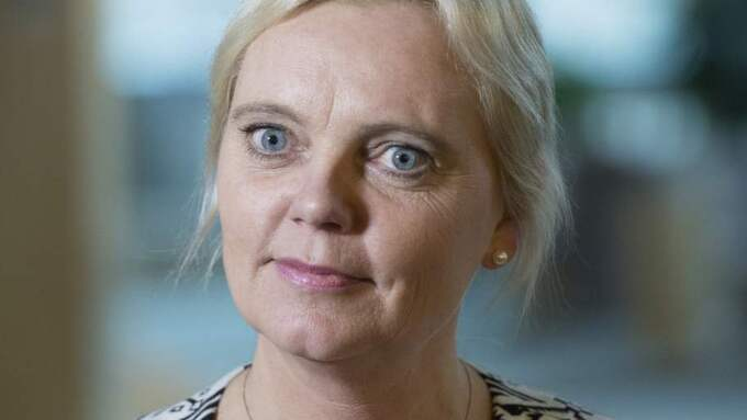 Kristina Winberg. Sverigedemokraternas toppkandidat i EU-valet. Foto: Tommy Pedersen