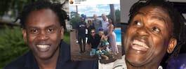 Dr Alban festade med kändisarna