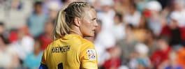 Norska målvakten sparkades ur laget