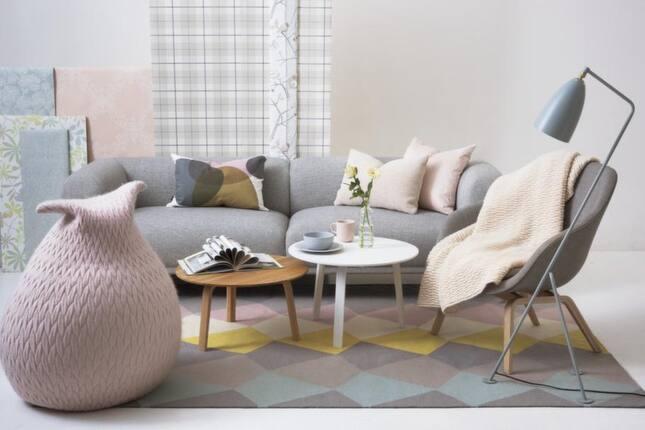 Golvlampa Illum - Sätt färg på ditt hem! Gult, lila och pasteller! Leva& bo Expressen