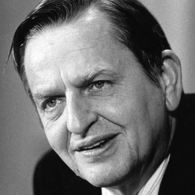 Olof Palme mördades i februari 1986. Foto: Göran Ärnbäck