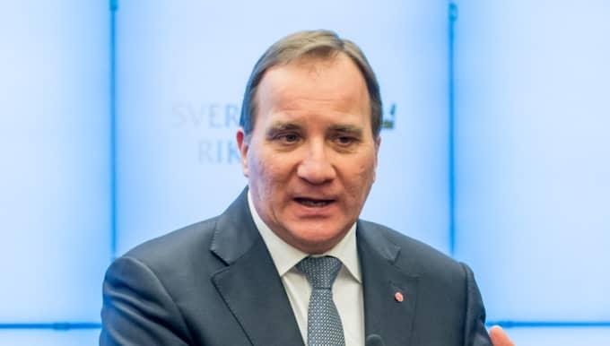 Sveriges statsminister Stefan Löfven Foto: Pelle T Nilsson