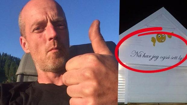 """""""Garagemannens"""" nya budskap till grannen han stör sig på"""