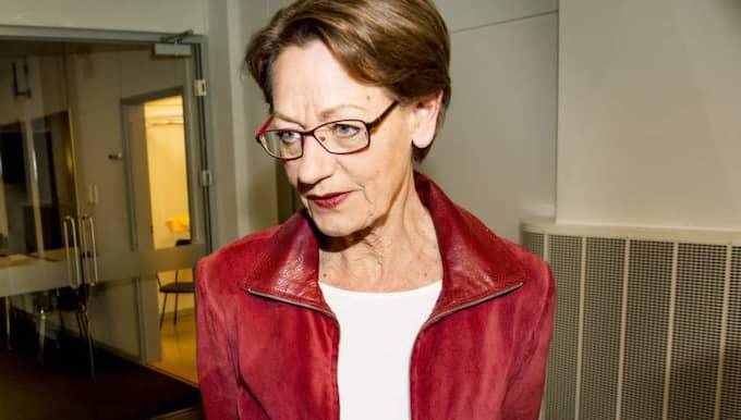 Gudrun Schyman och Fi har en rad förslag som skulle kosta enorma pengar att genomföra. Foto: Jens L'Estrade