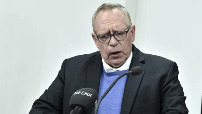 Kommunals kassör Anders Bergström avgick på torsdagen efter en rad avslöjanden om fackets krog- och konferensverksamhet. Foto: Claudio Bresciani/Tt